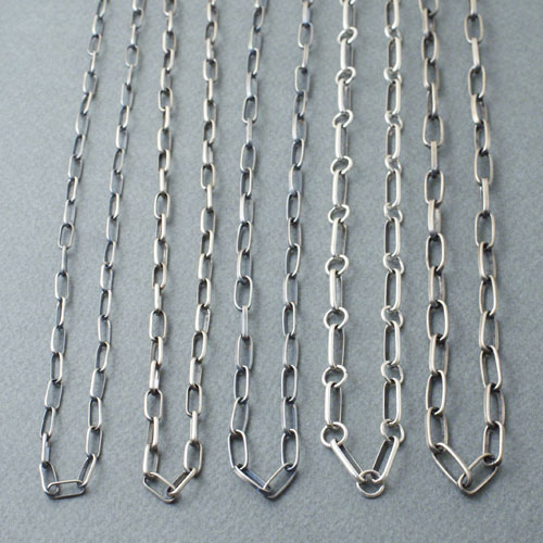 NAVAJO SILVER CHAIN FOR CODY TYPE6