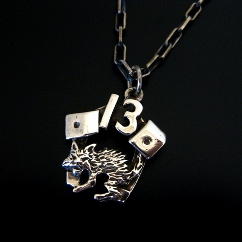 Flash Point 13 CAT CHARM-silver