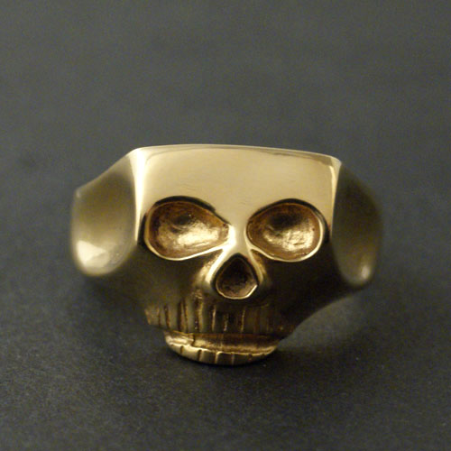 Flash Point JIM SKULL RING-gold