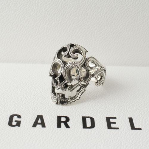 GARDEL SURVIVE SKULL RING (#S)