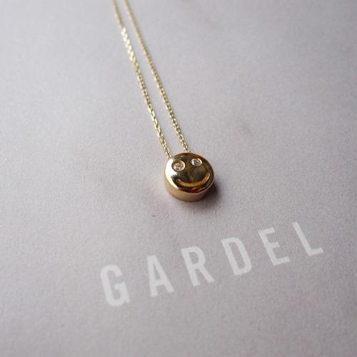 GARDEL TINY DIAMOND NECKLACE/SMILE