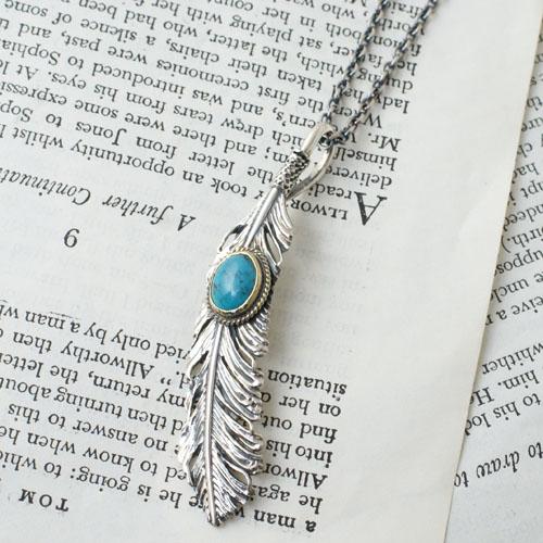 GARDEN OF EDEN CG別注 Feather Necklace