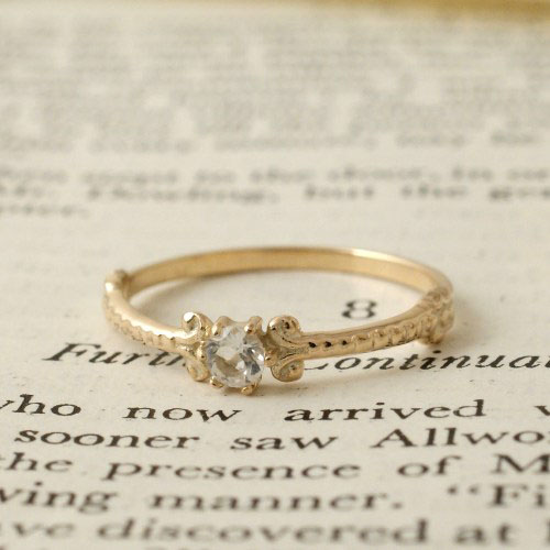 GARDEN OF EDEN Archive Stone Small Ring
