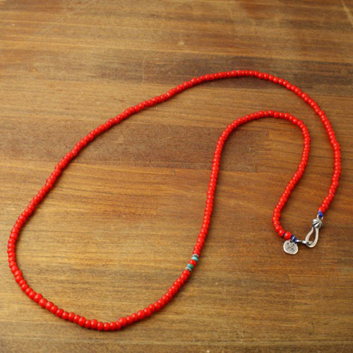 Atease NATIVE BEADS NECKLACE / WH