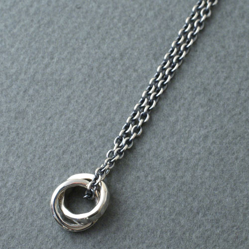 mollive SILVER RING NECKLACE