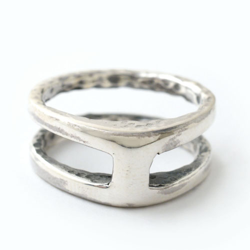 mollive ARMOR RING-SILVER