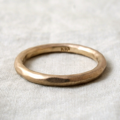 mollive SIMPLE 10K RING