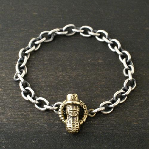 Peanuts&Co. 13th別注 Peanuts Chain Bracelet / Brass
