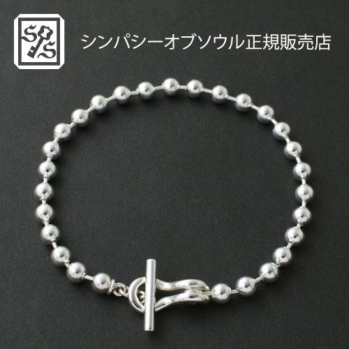 SYMPATHY OF SOUL Ball Chain T-Bar Bracelet