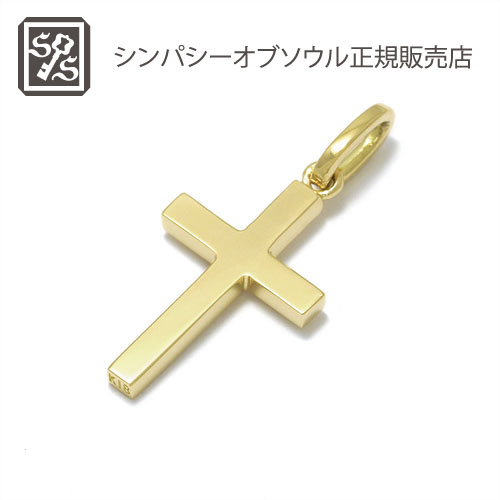 SYMPATHY OF SOUL Simple Cross Pendant - Small