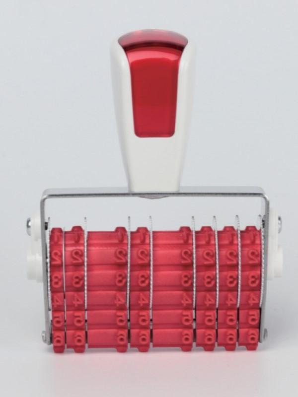 専用用紙にすぐ押せる サンビー 新型コロナウィルスワクチン接種対応回転印8連タイプ伊藤金属 高品質 結婚祝い