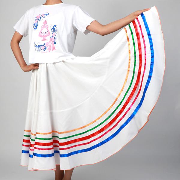 【チャコット 公式(chacott)】メキシコ風スカート
