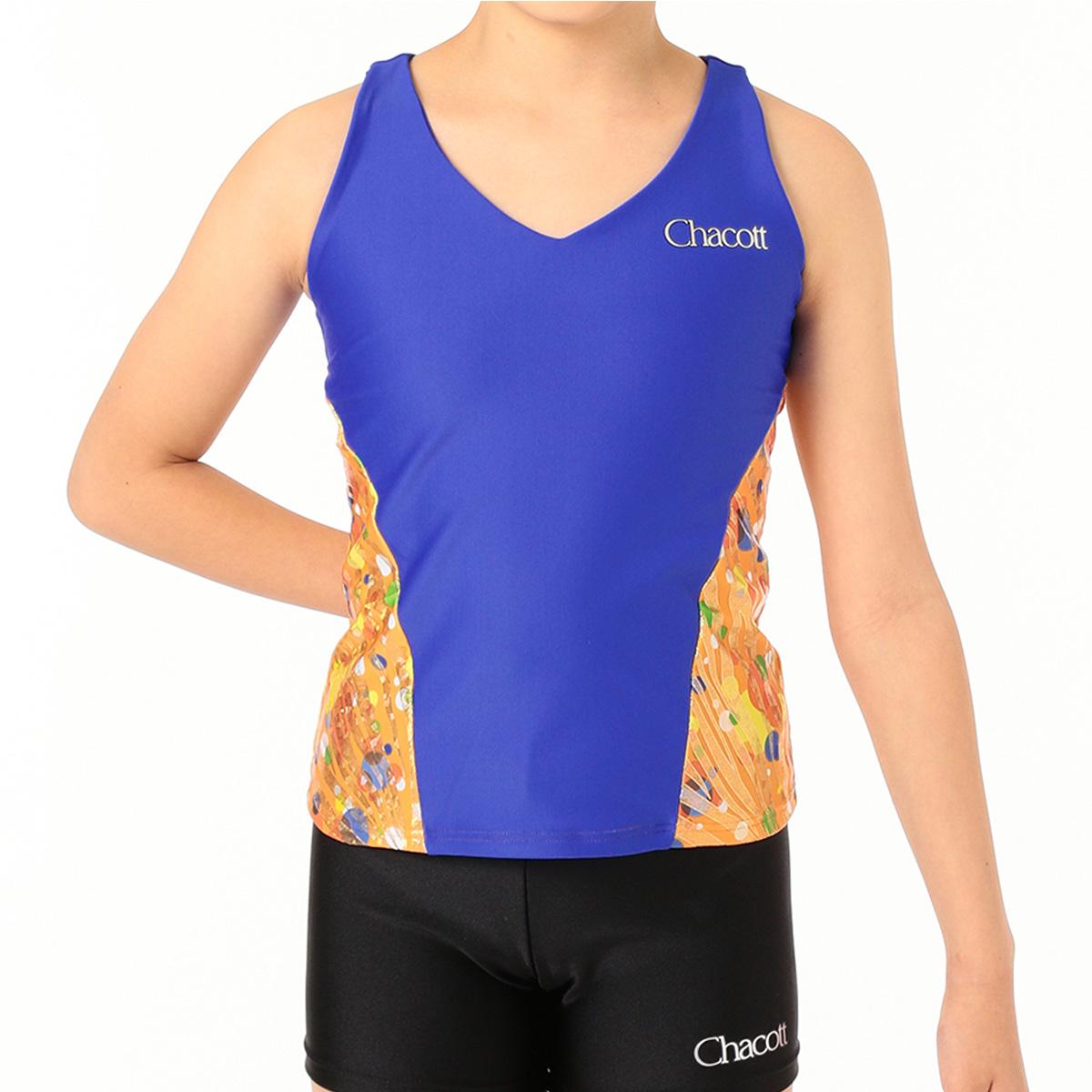 チャコット 新体操 公式 chacott クロスバックロングトップ オンラインショップ限定 数量は多 正規逆輸入品