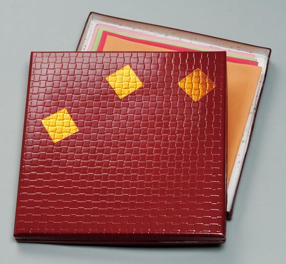日本限定 帛紗 袱紗 の収納に 帛紗用 供え 茶道具 収納箱塗文庫