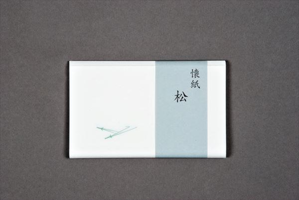 10%OFF 茶道具 懐紙 送料無料限定セール中 kaishi 1帖入 松