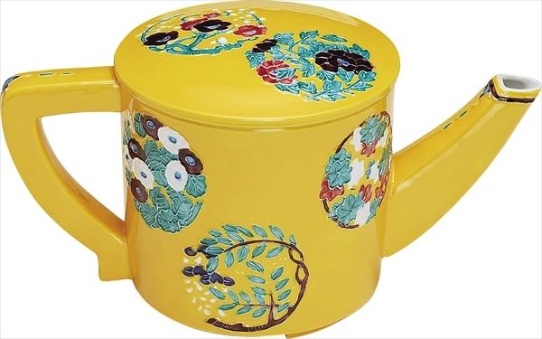 黄交趾 花丸 水注
