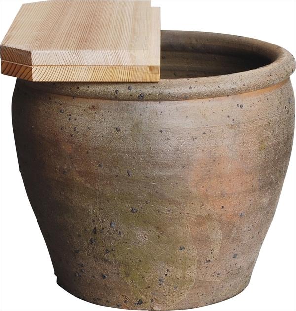 南蛮 壺型 水屋瓶(杉一枚蓋付)