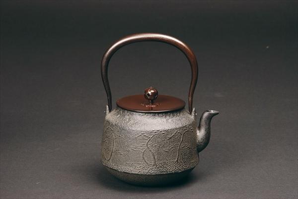 鉄瓶 浜松地紋真形/Tetsubin/Iron kettle