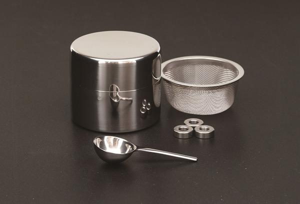 茶道具 水屋道具 近藤さんの抹茶ふるい缶 小 Grenn アウトレット☆送料無料 国内正規品 strainer Tea
