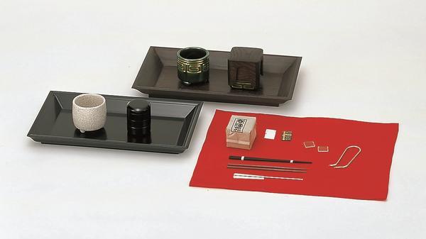 桑 香盆セット(香たどん付)
