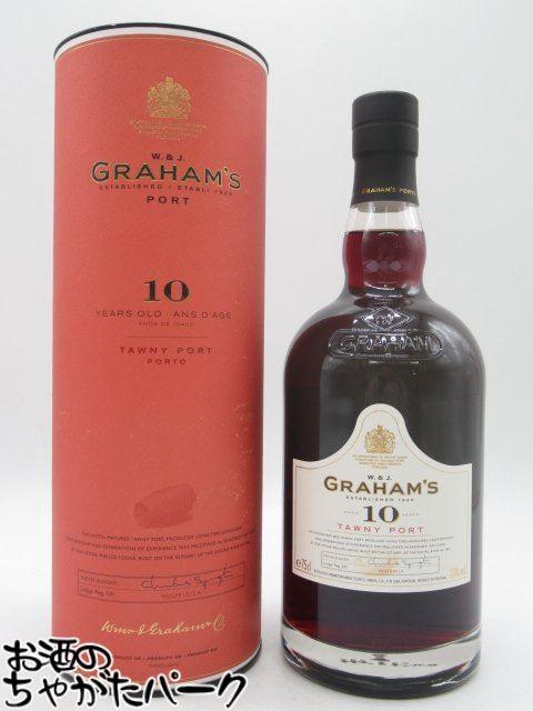 豊富な品 グラハム トウニー 1着でも送料無料 10年 ポートワイン 750ml 並行品