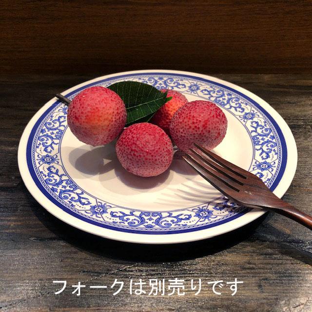 タイでお馴染みメラミン食器 23cmです メラミン食器 JADA 未使用品 平皿23cm どんぶり青白食器タイ製タイ料理アジアン料理タイ雑貨 P903-9 お洒落 取り皿 プラスティックお椀