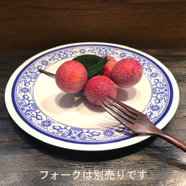 タイでお馴染みメラミン食器 25cmです メラミン食器 ふるさと割 JADA 平皿25cm 開店記念セール P905-10 プラスティックお椀 取り皿 どんぶり青白食器タイ製タイ料理アジアン料理タイ雑貨