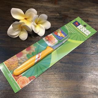 果物 野菜を花や葉っぱのように彫刻するためのナイフです 送料無料 カービングナイフ単品販売KOM KOM調理器具 タイ料理 タイ専門店 タイフード 高級な バンコク Thai 人気ブレゼント! カービング アジアン料理