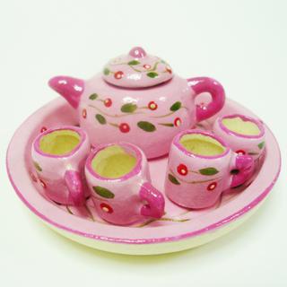 ミニチュア ポット マグカップセットです マグカップ マグカップミニチュア雑貨タイ雑貨アジアン雑貨 スーパーセール期間限定 ピンク 毎週更新 小花柄