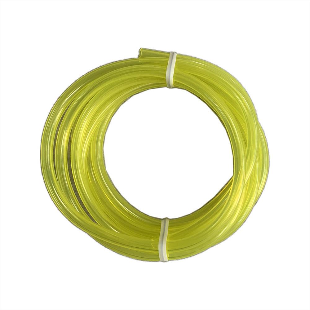【送料無料】 【FocusOne】2M 耐油 燃料ホース 黄色 3.0mmX5.0mm 刈払機 草刈機 ワルボロ WYL WYJ WYK