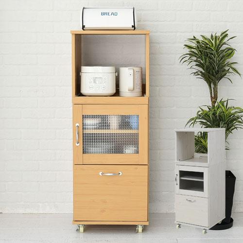 キッチンボード スリム 収納 キッチン コンパクト H120 ミニ 棚 収納棚 レンジ台 ロータイプ 食器棚 幅 45 レンジラック 隙間収納