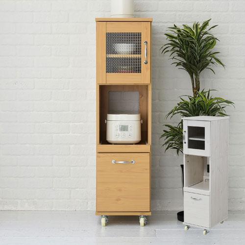 キッチンラック レンジ台 幅 棚 収納 深型 ロータイプ H120 キッチン 隙間タイプ 32.5 引き出し すきま収納 スリム レンジラック 食器棚 収納棚 ミニ
