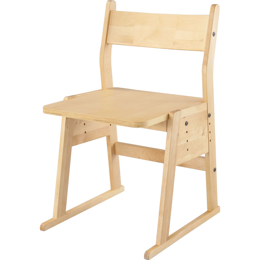 入学祝い 学習チェアー 子供部屋 子供用イス 椅子 天然木 環境 低ホルマリン キッズチェアー 完成品 おしゃれ