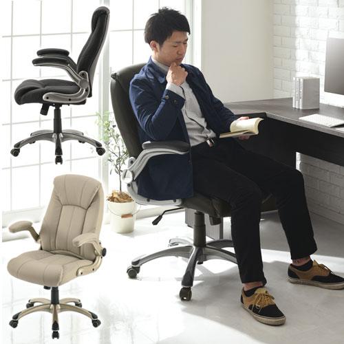 【クーポンで1,000円引き】 オフィスチェアー いす イス パソコン 椅子 揺れ リビング 書斎 パソコンチェア パーソナルチェア ブラック 黒 ベージュ OAチェアー エグゼクティブチェア おしゃれ チェア
