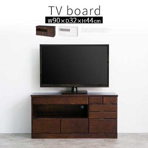 テレビ台 木製 AV収納 テレビボード TVボード TV台 テレビラック TVラック リビング AVボード てれび 台 天然木製 桐製 完成品 おしゃれ 幅900
