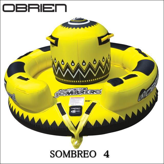 37349《送料無料》4人乗り【OBRIEN・オブライエン】引っ張り物・SOMBRERO ソンブレロ(TOWINGTUBE・トーイングチューブ) セール