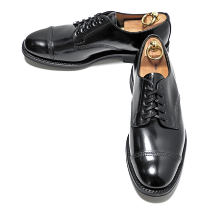 SANDERS(サンダース) ストレートチップ (Military Derby Shoe) Black
