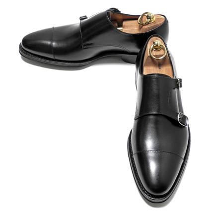 chamber | Rakuten Global Market: JALAN SRIWIJAYA (ジャランスリウァヤ) double Monk (calf-leather /11120/ die knight sole) Black