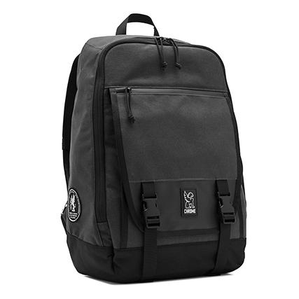 CHROME(クローム) 多機能 旅行用 スケートボード バックパック (FORTNIGHT 2.0) Black