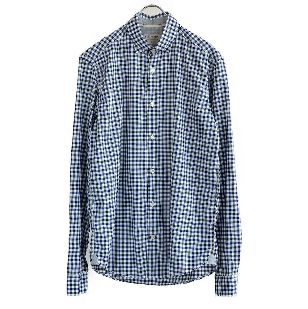 [40%OFF] FIL NOIR(フィルノワール) ビンテージチェックシャツ