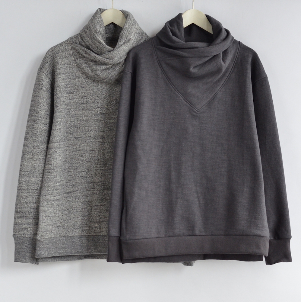 Jackman(ジャックマン) GG Sweat Wrap neck