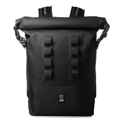 CHROME(クローム) 完全防水ロールトップバッグ (URBAN EX ROLLTOP 28L) Grey/Black