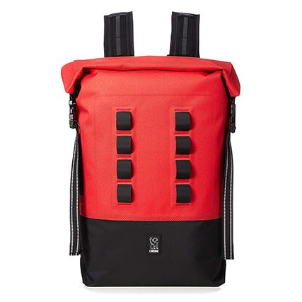 CHROME(クローム) 完全防水ロールトップバッグ (URBAN EX ROLLTOP 28L) Red/Black