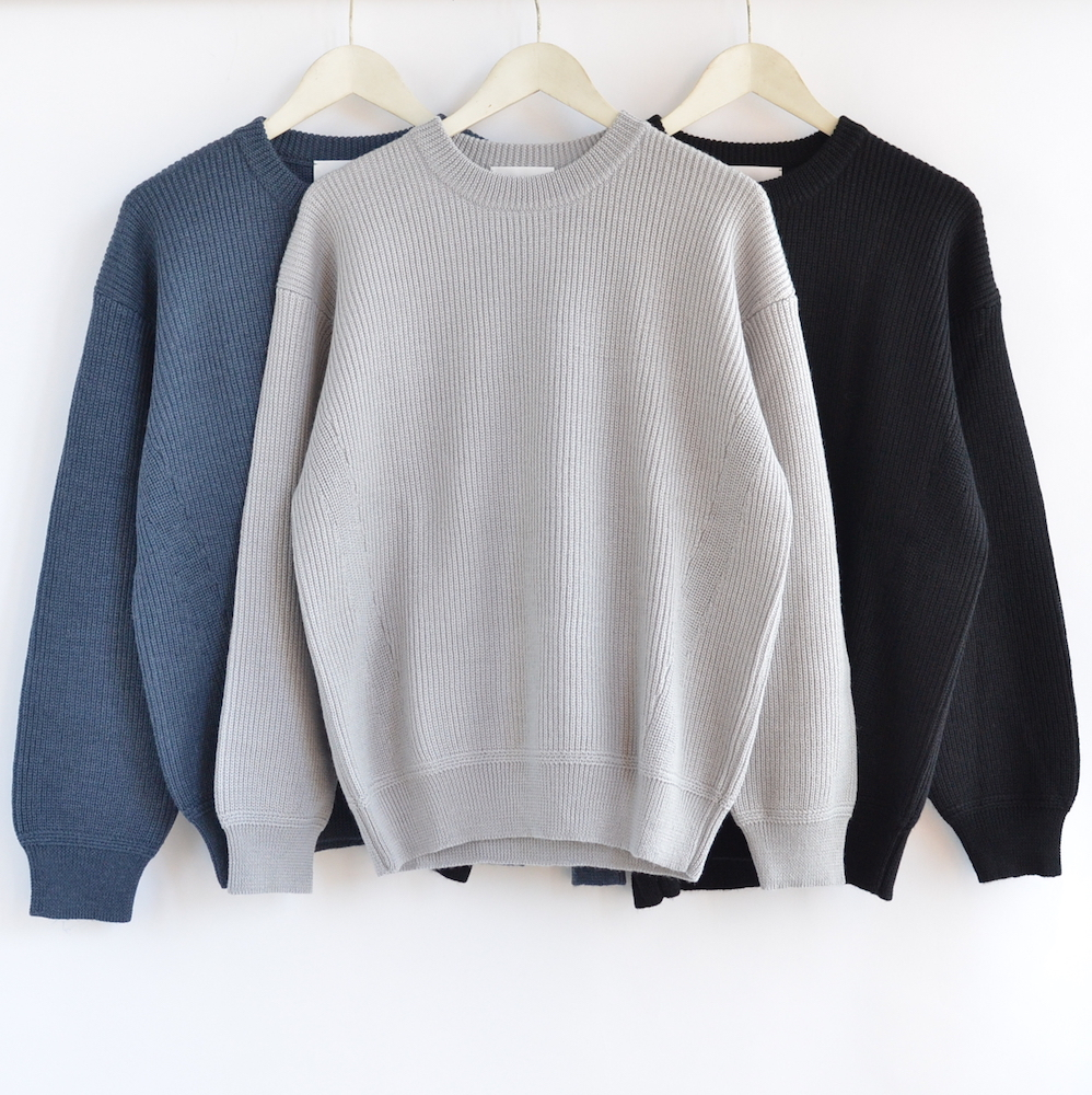 [20%OFF] STILL BY HAND(スティル・バイ・ハンド) アルパカ混クルーネックセーター