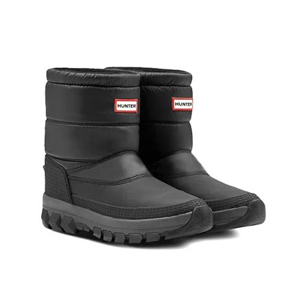 HUNTER(ハンター) インシュレーテッド ショート スノー ブーツ (W ORG INSULATED SNOW BT SHORT/WFS2066WWU) Black