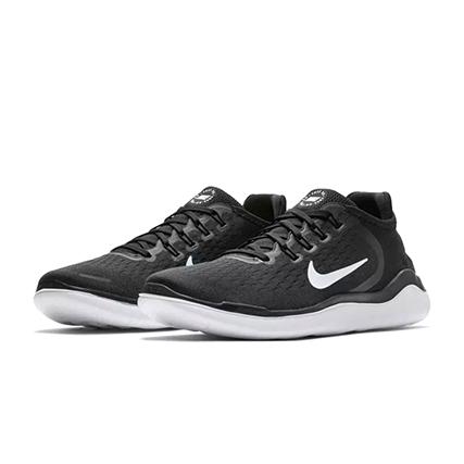 Nike(ナイキ) フリー ラン 2018 (001: ブラック/ホワイト)