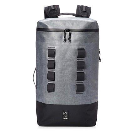 CHROME(クローム) 完全防水 軽量バックパック (URBAN EX GAS CAN 22L BACKPACK) Grey/Black
