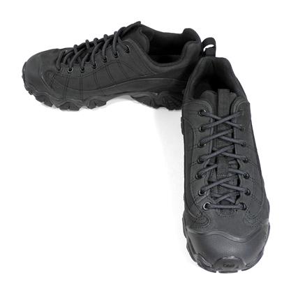 Oboz(オボズ) メンズ トレッキングシューズ (Men's Firebrand II Low Leather) Black