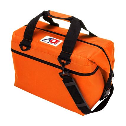 AO Coolers(エーオークーラー) 高級ソフトクーラー (24パック キャンパス ソフトクーラー) オレンジ(OR)