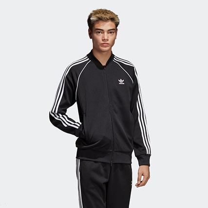 adidas(アディダス) オリジナルス トラックトップ [SST TRACK TOP] (CW1256 ブラック)